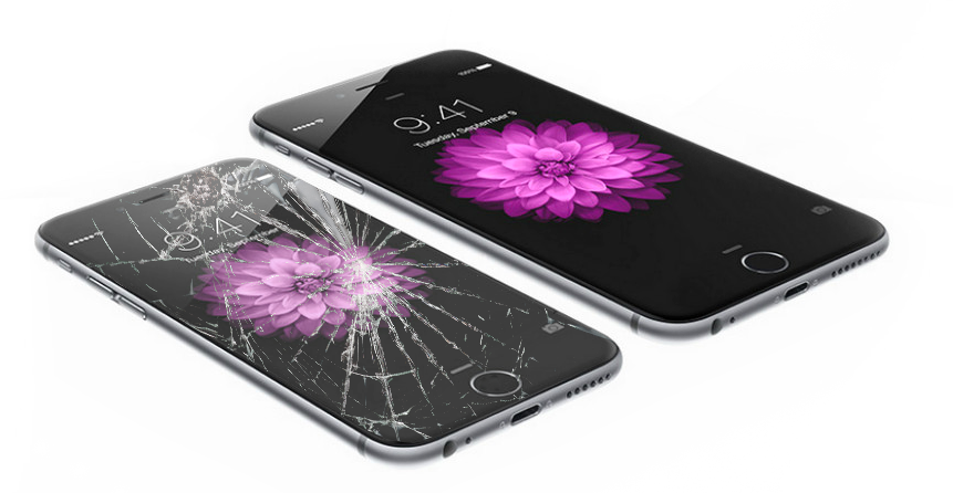 iPhone 6 Glasbruch