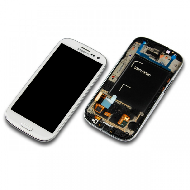 samsung galaxy s3 neo gt i9301 wei white display modul. Black Bedroom Furniture Sets. Home Design Ideas