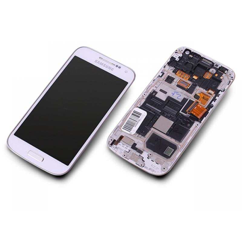 samsung galaxy s4 mini gt i9195 wei white display modul. Black Bedroom Furniture Sets. Home Design Ideas