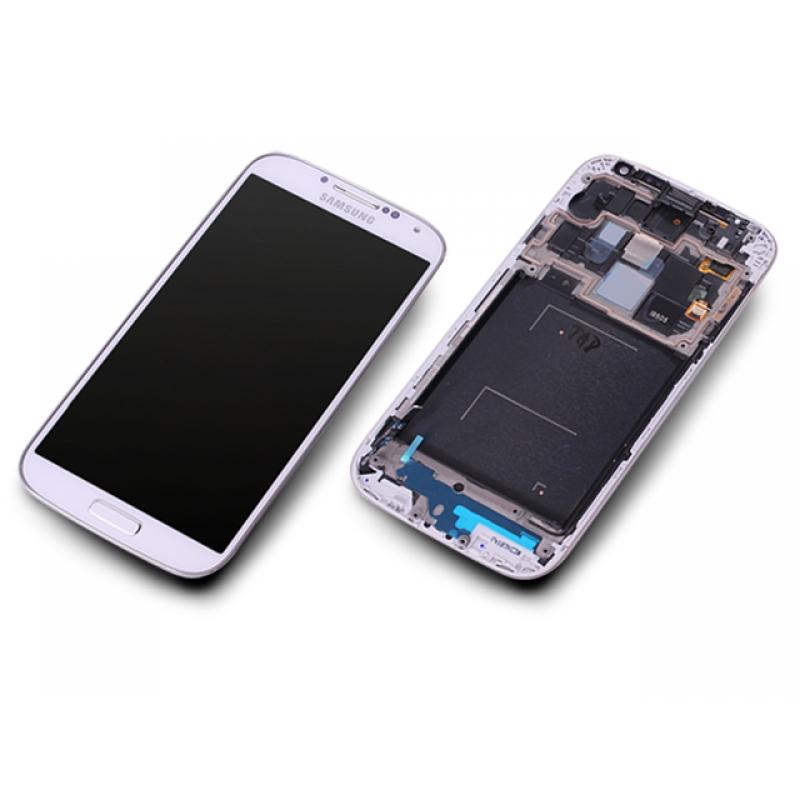 samsung galaxy s4 lte gt i9505 wei white display modul. Black Bedroom Furniture Sets. Home Design Ideas