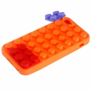 iPhone 5/5C/5S/SE Schutzh�lle Lego (Case) Orange