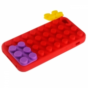 iPhone 5/5C/5S/SE Schutzh�lle Lego (Case) Rot