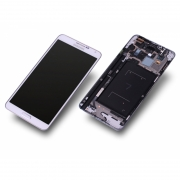 Samsung Galaxy Note 3 LTE N9005 wei� Display-Modul Einheit Rahmen
