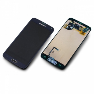 Samsung Galaxy S5 Mini SM-G800F schwarz/black Display-Modul + Digitizer