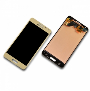 Samsung Galaxy Alpha SM-G850F gold Display-Modul Touchscreen Digitizer