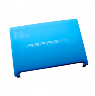 Acer Displaydeckel (blau) Aspire One D255