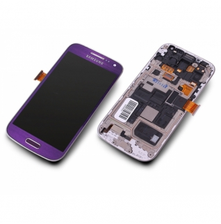 Samsung Galaxy S4 Mini GT-i9195 lila/purple Display-Modul Einheit