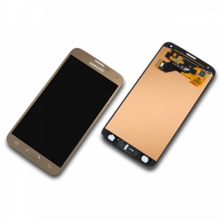 Samsung Galaxy S5 Neo SM-G903F gold Display-Modul + Digitizer