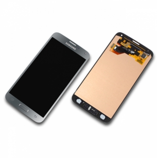 Samsung Galaxy S5 Neo SM-G903F silber/silver Display-Modul + Digitizer