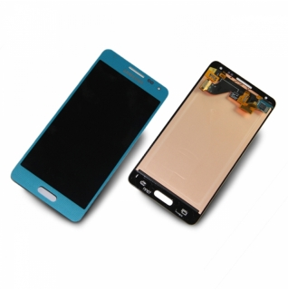 Samsung Galaxy Alpha SM-G850F blau/blue Display-Modul Touchscreen Digitizer