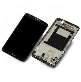 LG Optimus G2 D802 Display-Einheit Touchscreen schwarz/black