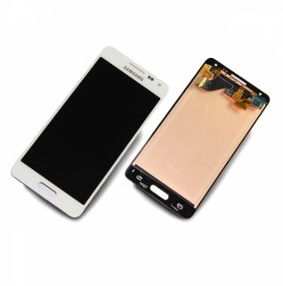 Samsung Galaxy Alpha SM-G850F weiß/white Display-Modul Touchscreen Digitizer
