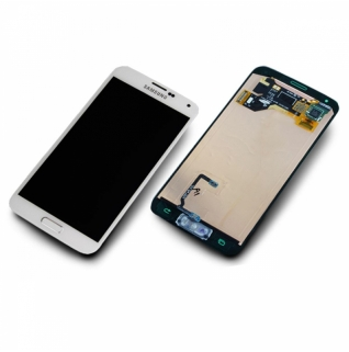 Samsung Galaxy S5 Mini SM-G800F weiß/white Display-Modul + Digitizer