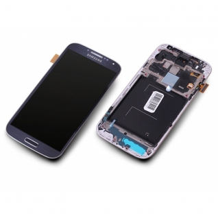 Samsung Galaxy S4 LTE Plus GT-i9506 schwarz/black Display-Modul + Digitizer Rahmen