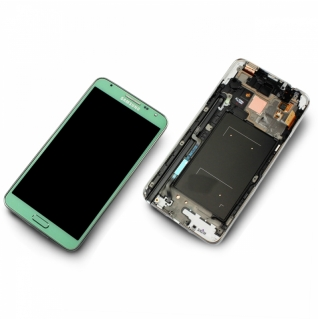 Samsung Galaxy Note 3 Neo SM-N7505 Display-Modul + Digitizer grün