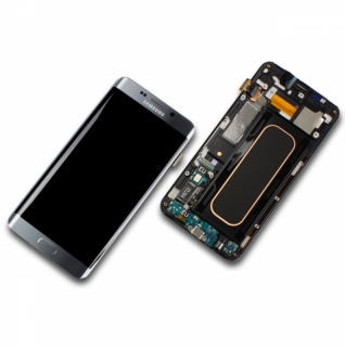 Samsung Galaxy S6 Edge Plus SM-G928F silber Display-Modul + Digitizer