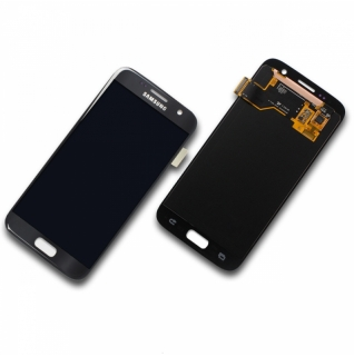 Samsung Galaxy S7 Display-Modul + Digitizer SM-G930F schwarz/octablack