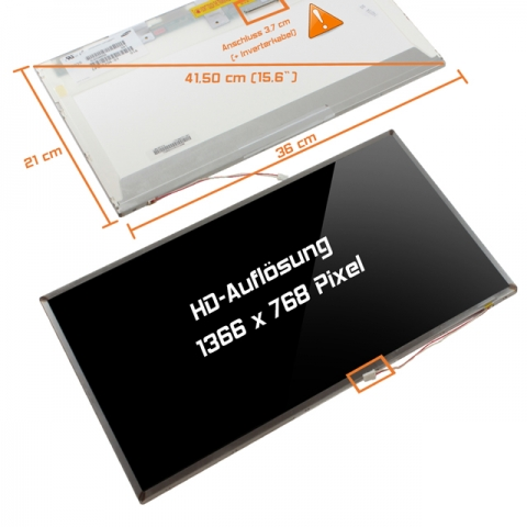 eMachines LCD Display (glossy) 15,6 E730ZG