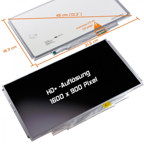 LED Display (matt) 13,3 passend für Sony Vaio VPCSA1B7E