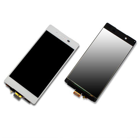 Sony Xperia Z4 Display-Einheit Touchscreen Glas weiß/white