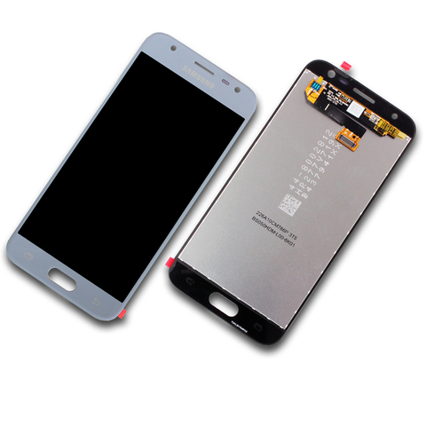 Samsung Galaxy J3 SM-J330F Display-Modul + Digitizer silber