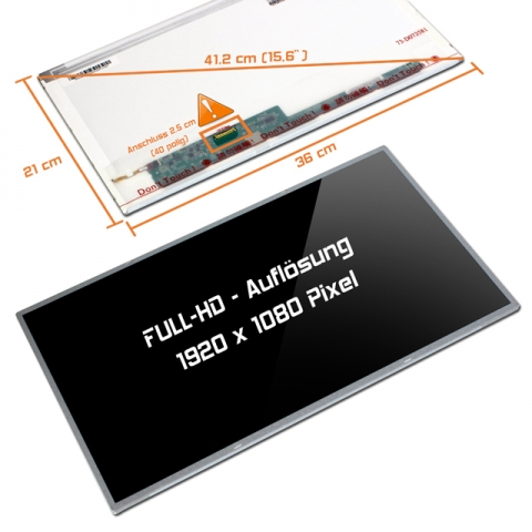 LED Display (glossy) 15,6 B156HW01 V.5