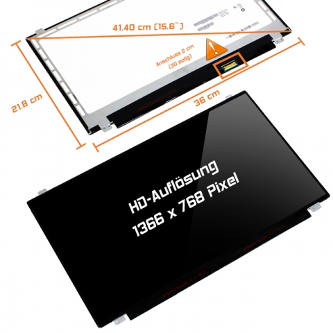 LED Display (glossy) 15,6 LP156WH3 (TP)(S2)