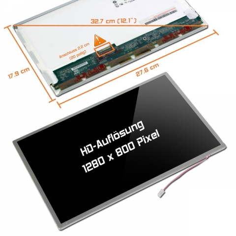 LCD Display (glossy) 12,1 N121I3-L02