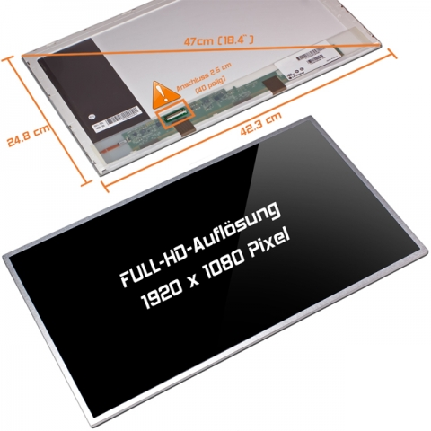 LED Display (glossy) 18,4 N184HGE-L21