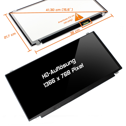 LED Display (glossy) 15,6 LP156WH3 (TL)(L2)