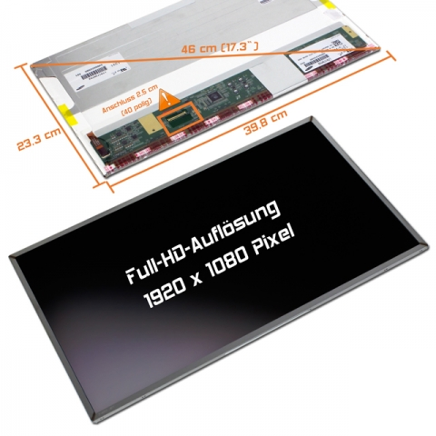 LED Display (matt) 17,3 N173HGE-L11