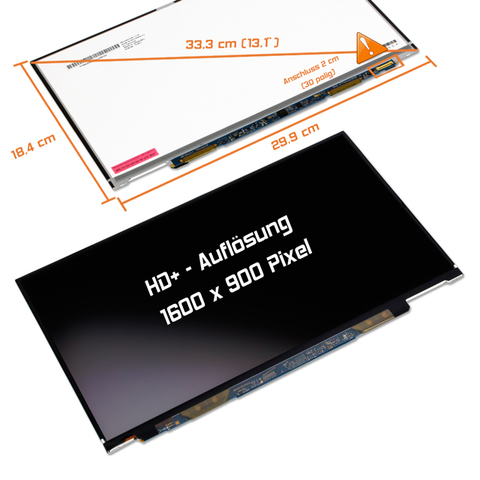 LED Display (matt) 13,1 LT131EE12000