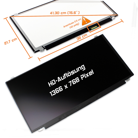 LED Display (matt) 15,6 LP156WHU (TL)(A1)