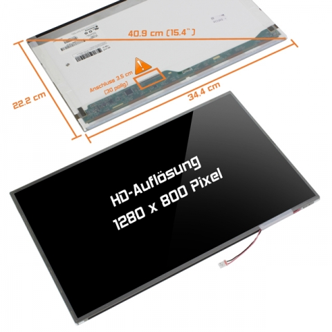 LCD Display (glossy) 15,4 CPT CLAA154WA05A V.1