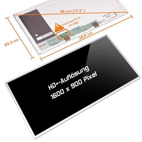 LED Display (glossy) 17,3 B173RW01 V.2